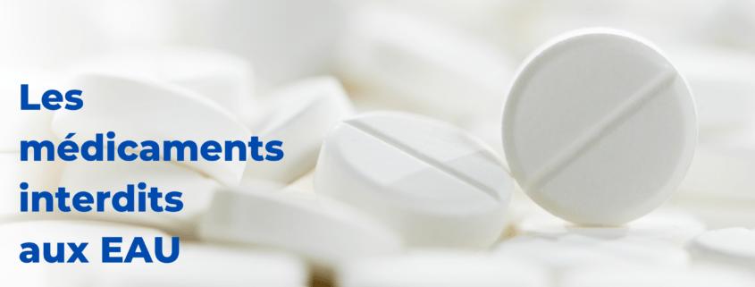médicaments interdits